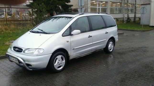 ford galaxy benzyna +gaz