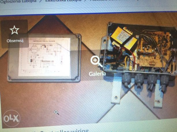 Sterownik Contrller wiring