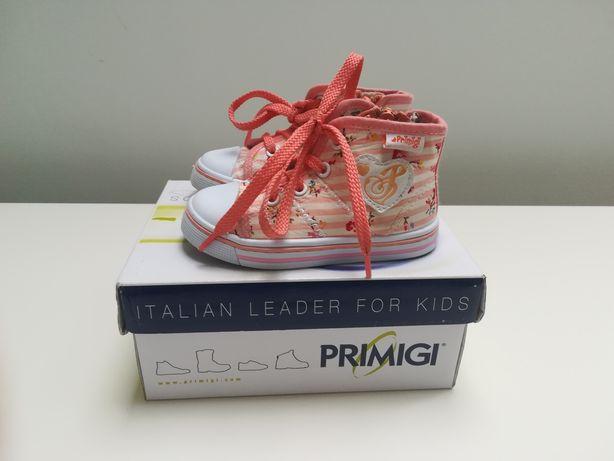 Trampki buty buciki Primigi dla dziewczynki rozmiar 21