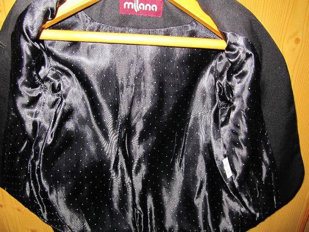 Пиджак школьный черный Milana 116р.