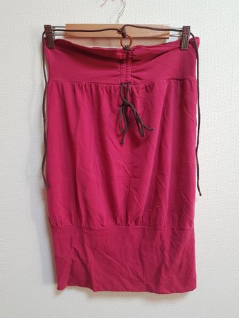 Czerwona sukienka plażowa esotiq stan idealny raz założona