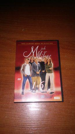 film na dvd M jak Miłość odcinek 1 do 6