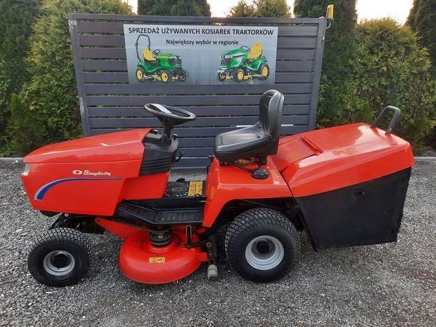 Traktorek Kosiarka Z Koszem Simplicity Baron 18KMV2 Briggs Hydro 2noże