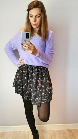 Sweter alpaka lila