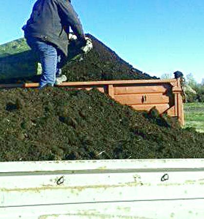 Плодородная земля торф коровий навоз перегной сыпец чернозем