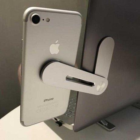 Магнитный держатель для телефона на ноутбук / алюминиевый держатель