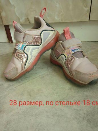 Кроссовки для девочки 28 размер