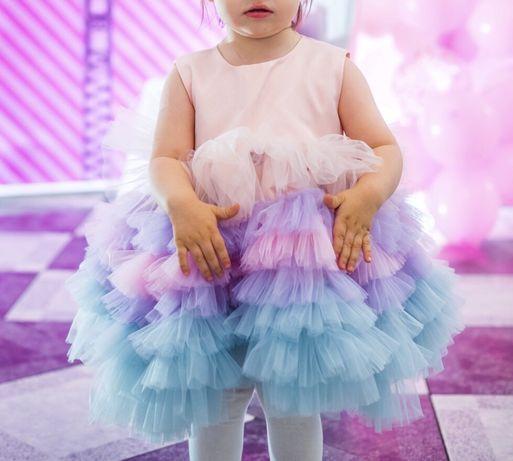 Нарядное платье, святкова сукня, плаття, фатин