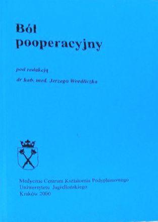 Ból pooperacyjny J. Wordliczek