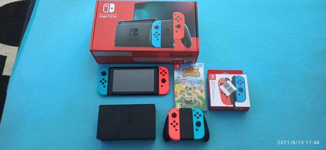 Nintendo switch gwarancja dwa lata