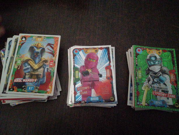 Sprzedam lub wymienię karty Lego Ninjago seria 3, 5 i 6.