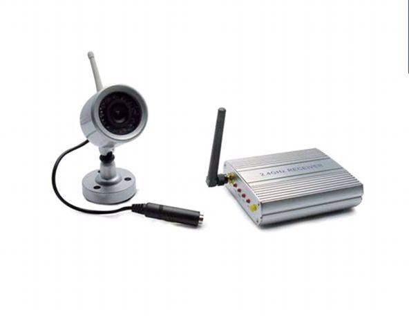 Sistema de vídeo Vigilância Wireless 2.4 Ghz