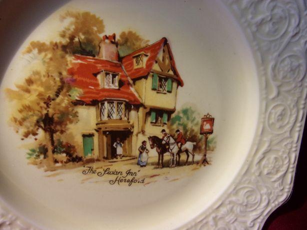 talerz angielska porcelana Crown Devon