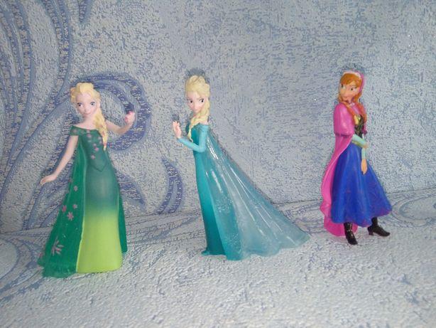 Набор Фигурки Bullyland Холодное сердце Анна и Эльза (Frozen)