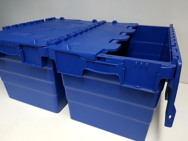 Pojemnik magazynowy transportowy kurierski zamykany-60x40x36cm.-NOWY