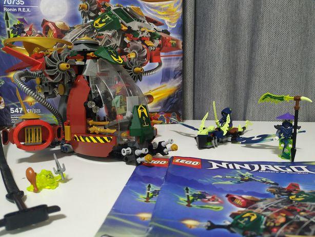 Lego 70735 Ninjago корабль R.E.X. Ронана