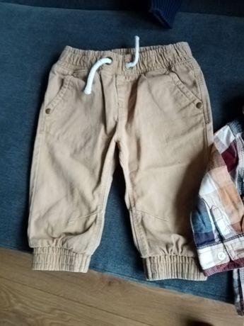 Śliczny zestaw spodnie i koszula