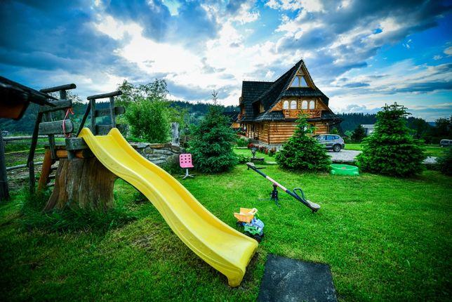 Górski dom na max 20 osób, sauna , kominek , bajeczny widok na góry