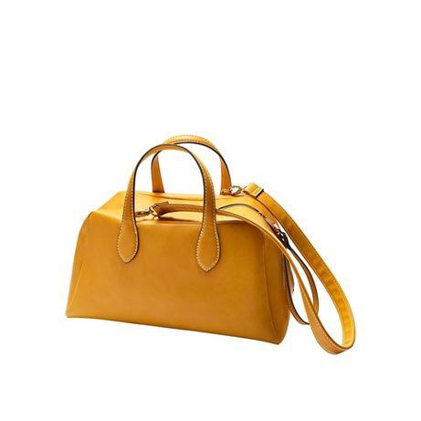 Torebka modna żółta musztardowa Ally Bowling Oriflame