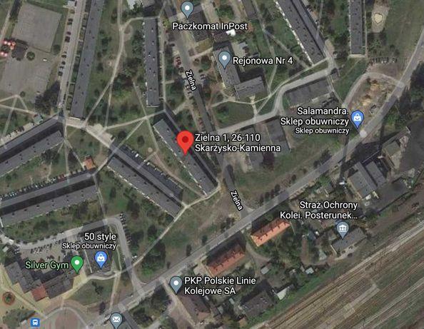 Mieszkanie 3 pok. 64 mkw. ul.Zielna Skarżysko - Kamienna