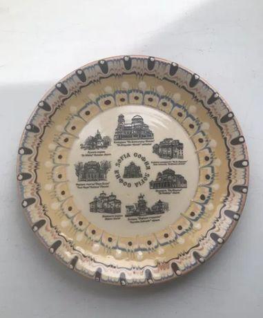Сувенирная тарелка София