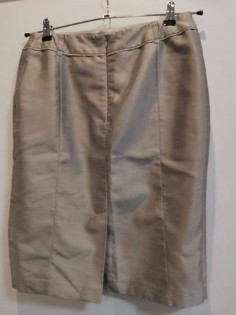 Spódnica C&A srebrny połysk rozmiar 40