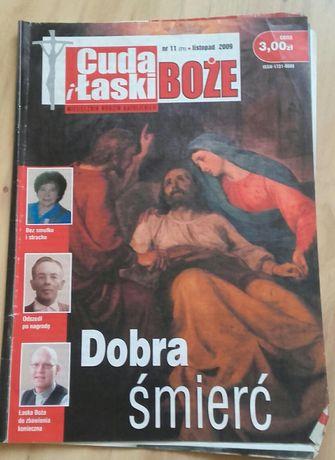 Cuda i łaski Boże miesięcznik rodzin katolickich rok 2009