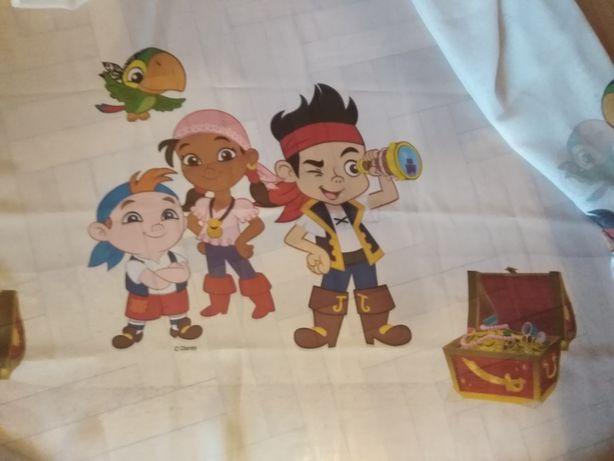 firanka do pokoju dziecięcego piraci