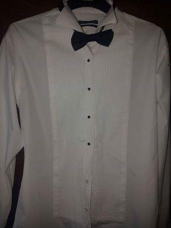 Koszula ślubna + mucha . Pako Lorente