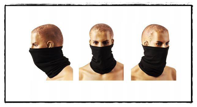 KOMIN NA TWARZ* MASECZKA* maska* Bawełna*jesień/zima bawełna 9w1