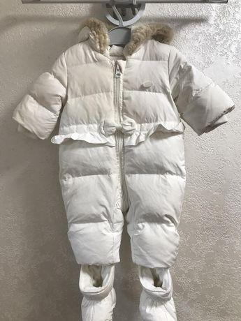 Продам зимний комбинезон Пуховой Чикко