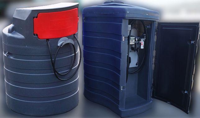 Zbiornik dwupłaszczowy paliwa paliwo 1500L MIDI -1500L MAX - 2500L