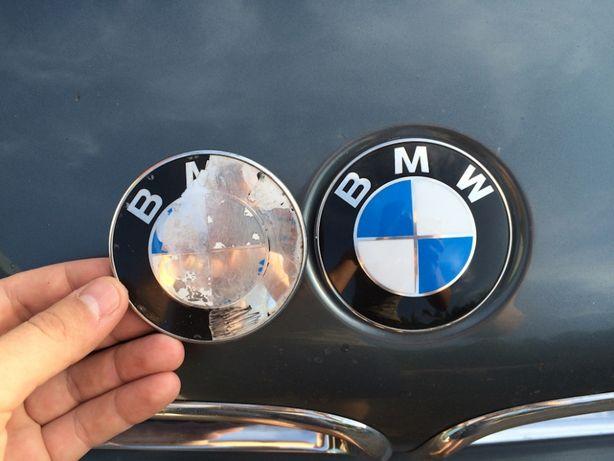 Значок емблема на капот багажник для BMW