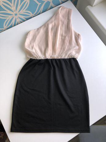 Sukienka na jedno ramię Amisu