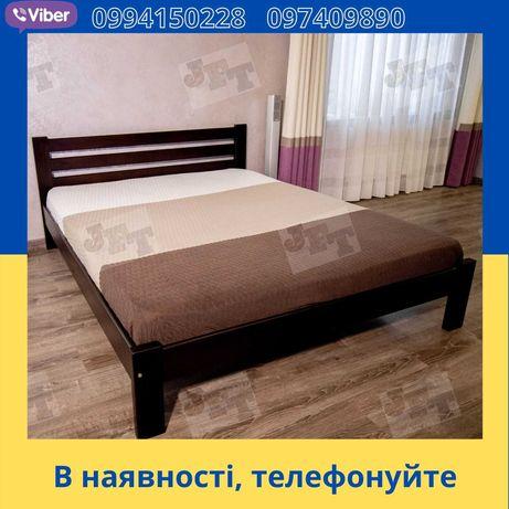 Кровать МАКС деревянная 160х200 усиленная 400 кг двуспальная из дерева