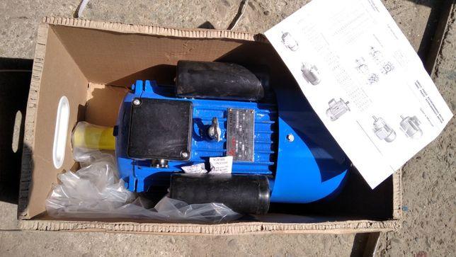 Электродвигатель 0.75квт,1.1,1.5,2.2,3,4,5.5, Електродвигун 220-380В К