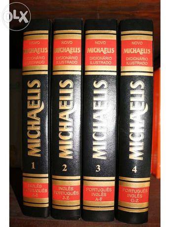 Dicionário ilustrado michaelis 4vol +CD
