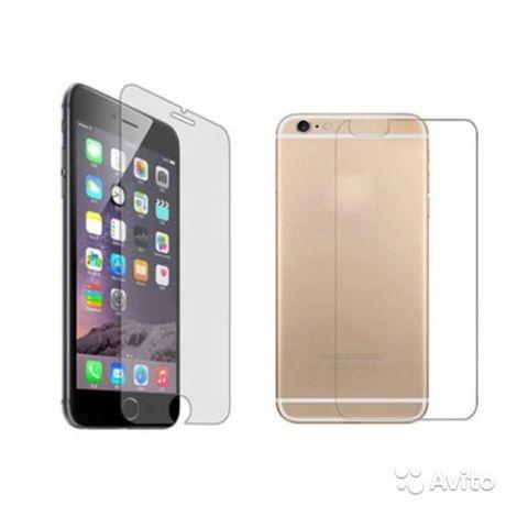 Комплект пленок ( стекло ) на iPhone 6/6S - iPhone 6 +