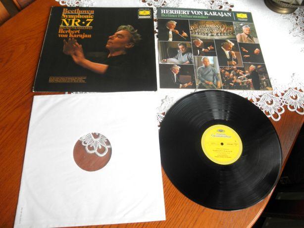 Beethoven, Berliner Philharmoniker, Herbert von Karajan. Symfonia 7 .