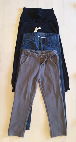 Lote de 4 calças 4-6 anos