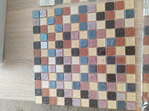 Dekor do łazienki mozaika