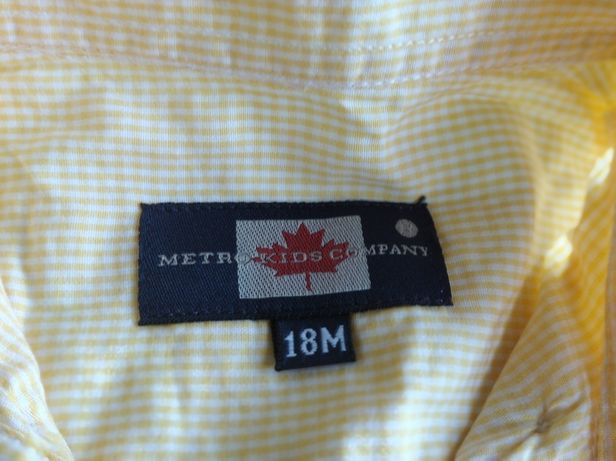 Camisa metro company