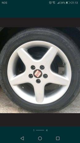 Jantes 15 5x100 com pneus