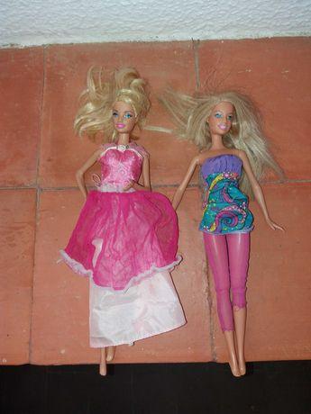 Conjunto de 2 Bonecas Barbie Modelos 1609 HF de 1999 e 1784HF2 de 2009