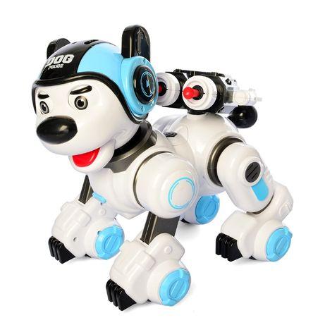 Собака р/у,аккум, сенсорн,муз,зв ,св,ездит,танцует,USBзар1901-09