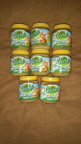 Детское питание пюре Цветной капусты