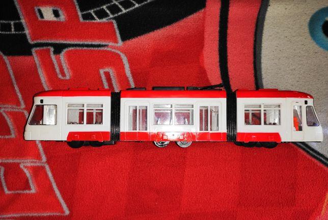 Поезд музыкальный ездит светится 46см