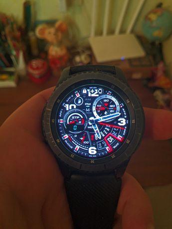 Продам часы Samsung Gear S3 frontier или обменяю на Apple Watch s3