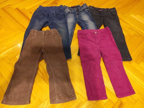 5 par spodni dziewczynka rozm. 92-98 Starachowice