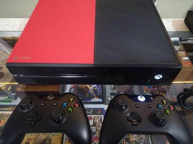 Konsola Xbox One 500Gb z padem zamiennikiem oraz grą + wymiana
